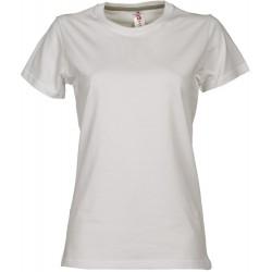 tee-shirt manches courtes femme Blanc