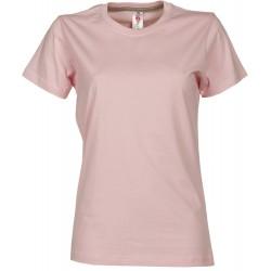 tee-shirt manches courtes femme Rose clair