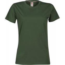 tee-shirt manches courtes femme Vert