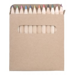 Set 12 crayons de couleurs