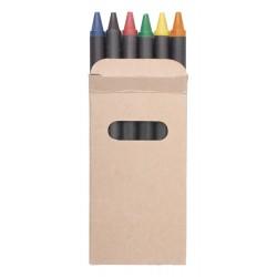 Set 6 crayons pastels