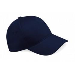 casquette 5 panneaux bleu marine