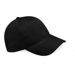 casquette 5 panneaux noire