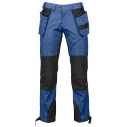 pantalon de travail avant bleu