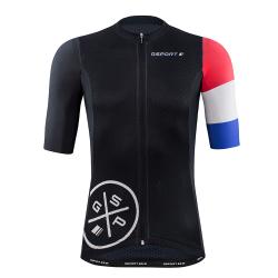 maillot cycliste manches courtes Edition Tour de France avant