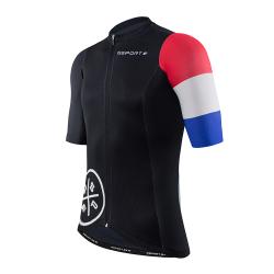 maillot cycliste manches courtes Edition Tour de France côté