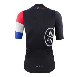 maillot cycliste manches courtes Edition Tour de France dos