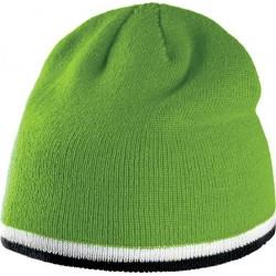 Bonnet tricoté bi-couleur