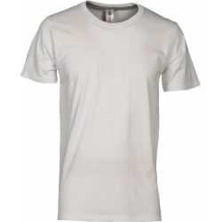 tee-shirt manches courtes homme Blanc