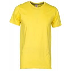 tee-shirt manches courtes homme Jaune