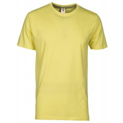 tee-shirt manches courtes homme Jaune clair