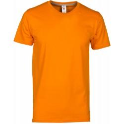 tee-shirt manches courtes homme Orange