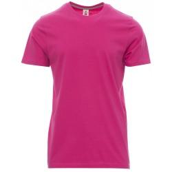 tee-shirt manches courtes homme Fuchsia