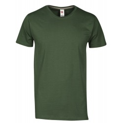 tee-shirt manches courtes homme Vert