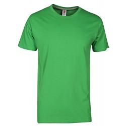 tee-shirt manches courtes homme Vert Gelée