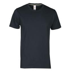 tee-shirt manches courtes homme Bleu marine