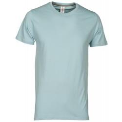 tee-shirt manches courtes homme Bleu pâle