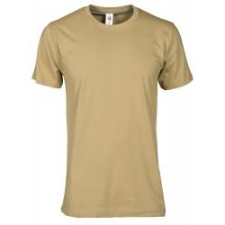 tee-shirt manches courtes homme Beige