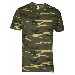tee-shirt manches courtes homme Camouflage