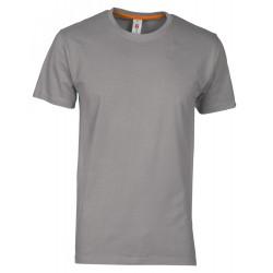 tee-shirt manches courtes homme Gris clair
