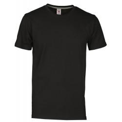 tee-shirt manches courtes homme Noir