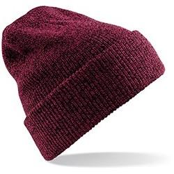 Bonnet tricoté avec revers